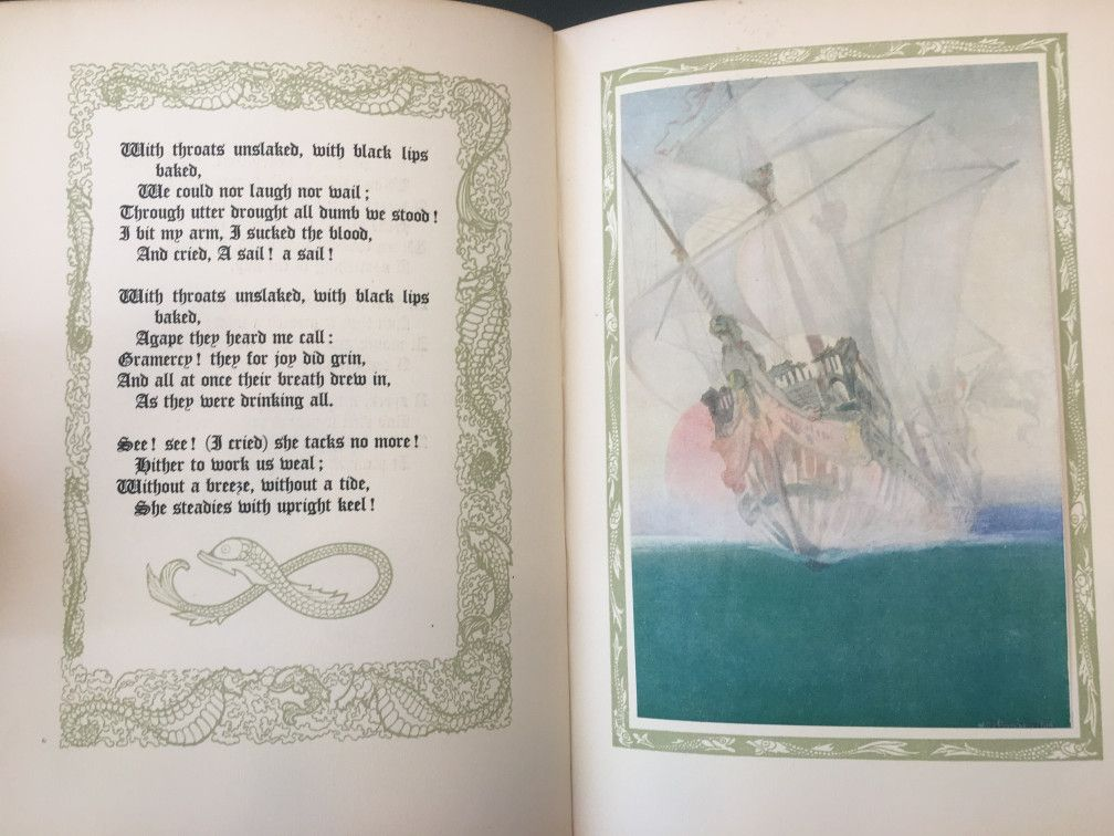 Creating the Power of Nature in Rime of the Ancient Mariner